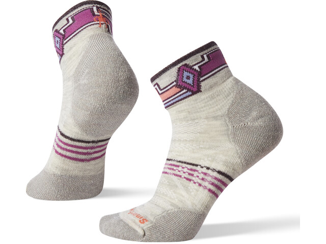 Smartwool PhD Outdoor Light Pattern Mini Calcetines Mujer, ash